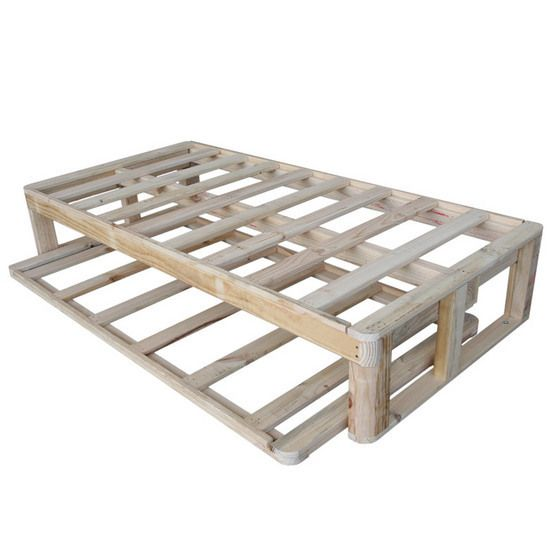 pallet bed with drawers | Timber Bed Frames   For manufacturers of
