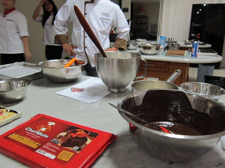 ChefMate Chocolate Demo @Sandi Martin institute