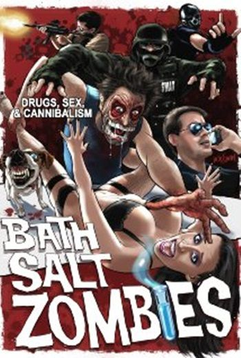 Bath Salt Zombies is a low-budget splatter film that was written and directed by Dustin Mills, and released in 2013. Find out more: http://thezombiesite.com/bath-salt-zombies-2013/