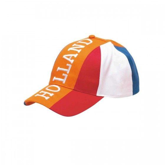 Baseball Cap Holland Rood-Wit-Blauw