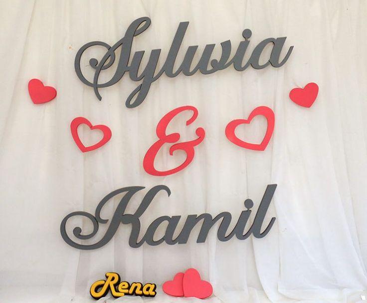 Imiona weselne dla Młodej Pary – Sylwia&Kamil