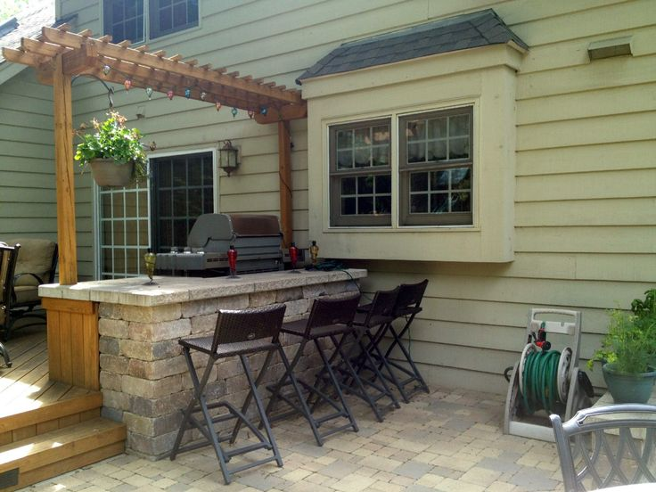 Deck And Patio With Outdoor Kitchen By Naperville Deck Builder, Archadeck  Of Chicagoland