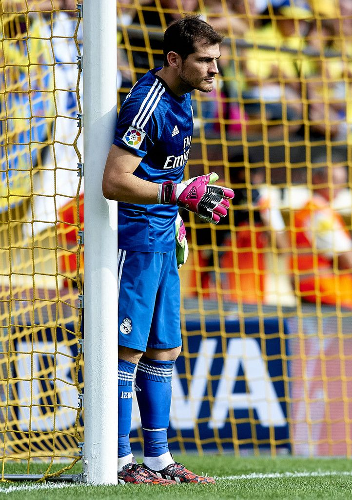 Iker Casillas Of Real Madrid Looks On During The La Liga Match Between Villarreal CF And