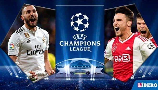 Uefa Champions League Real Madrid Vs Ajax En Vivo Maradotv Futbol En Vivo Movistar Futbol Liga De Campeones Partido De Futbol