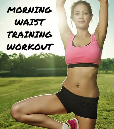 6 quick moves for a morning workout circuit that will see you lose many inches in a matter of weeks.