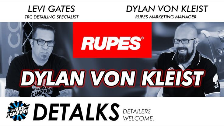 Introduction to Dylan von Kleist & Rupes | DETALKS
