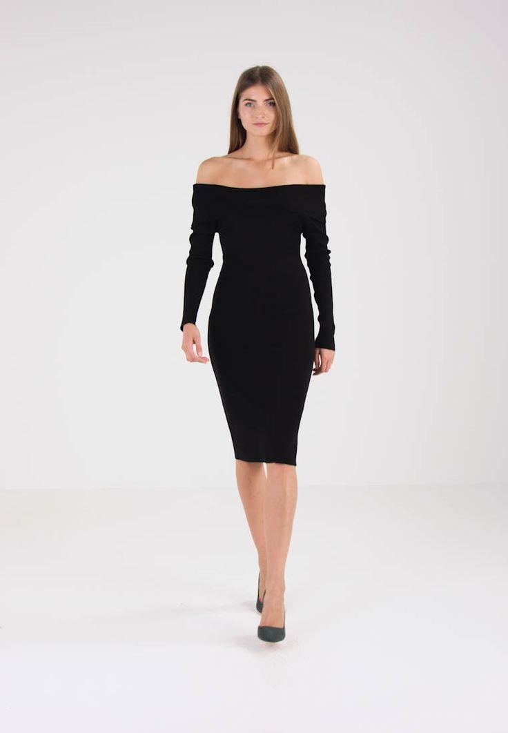 Wallis BARDOT  - Sukienka dzianinowa - black za 209 zł (05.12.17) zamów bezpłatnie na Zalando.pl.