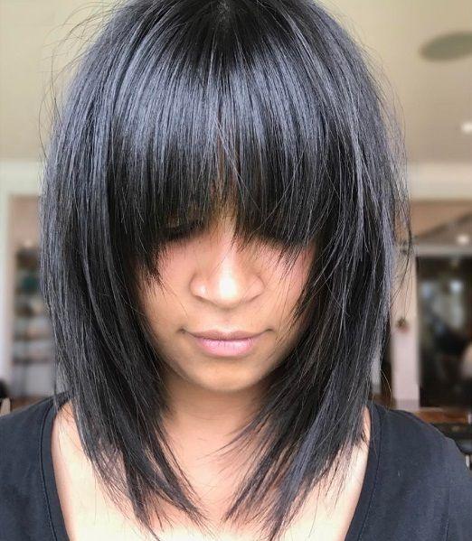 Les 25 meilleures id es concernant coiffures d grad es sur pinterest coiffures au carr - Coiffures courtes degradees ...
