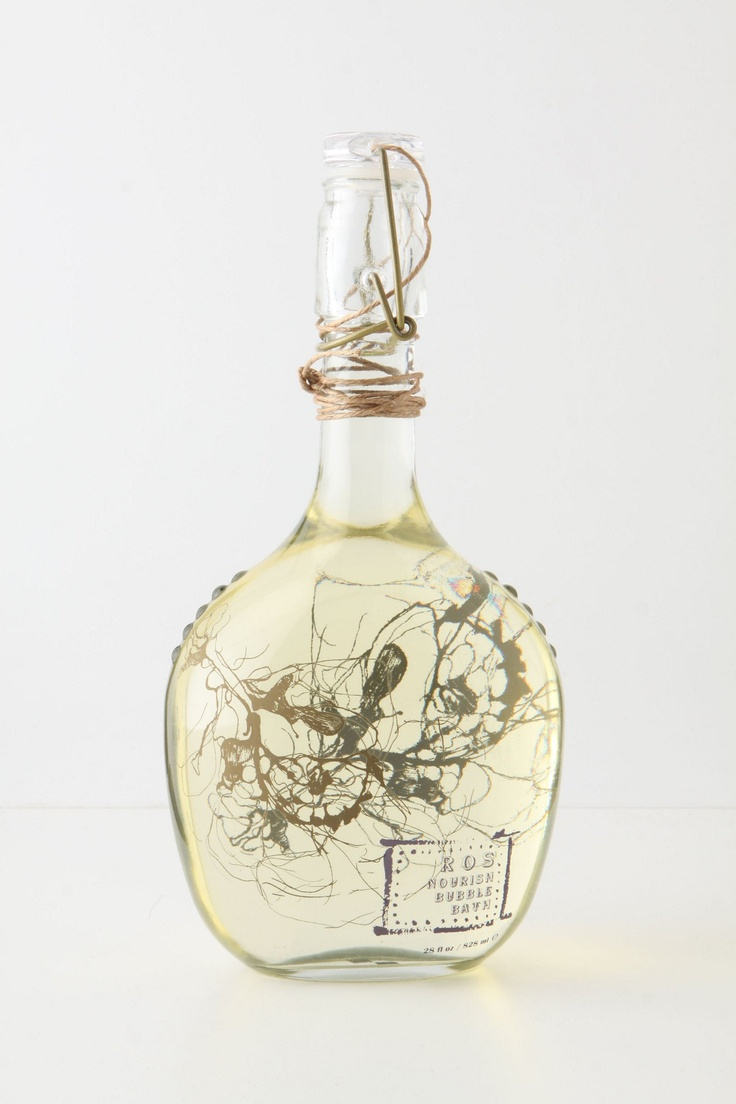 Just bought myself this Grown Under Glass Bubble Bath. Such a beautiful bottle.
