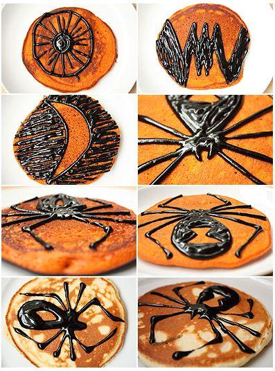 pancakes_calabaza_halloween_decoraciones