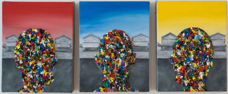Rory Emmett, 'Untitled' (2015), Oil on canvas, 21 x 16cm each