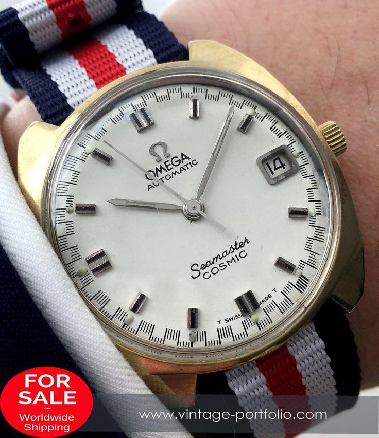Ladies Omega Seamaster Cosmic Automatik #omegaseamaster #seamaster #omegavintage #vintageos