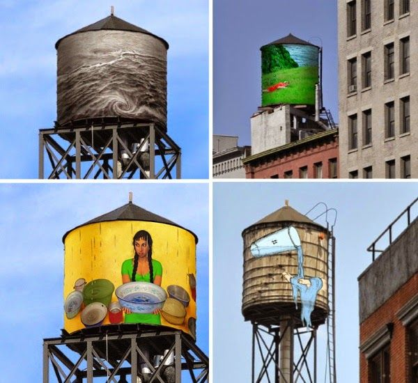 WATER TANK PROJECT EM NOVA IORQUE ~ ... And This is Reality