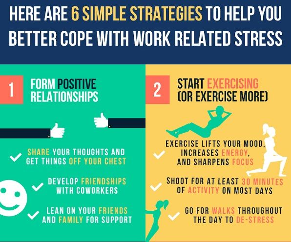 6 ways to reduce stress at work | Articles | Main | Work ...