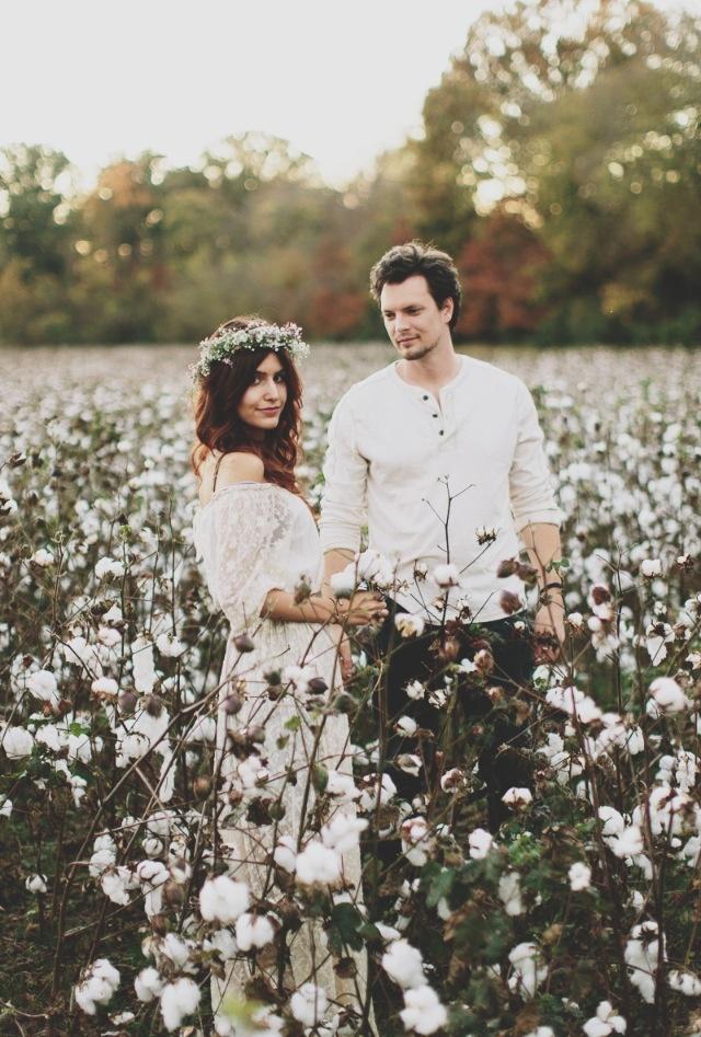 Photo by Brandon Chesbro. (Engagement photos // bohemian theme)