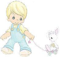 Precious Moments Nursery Baby II