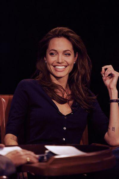 Angelina Jolie on Inside the Actor's Studio. 2005.