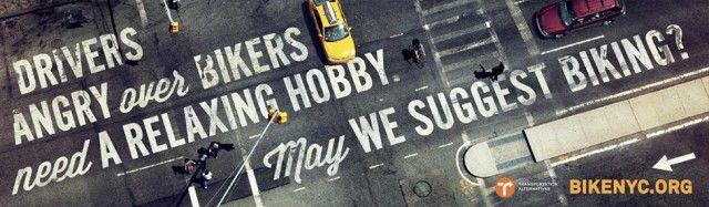 BikeLine, la campaña para publicitar el uso de la bici en NYC - Diseño + Foto - CYAN mag - Arquitectura, diseño y artes
