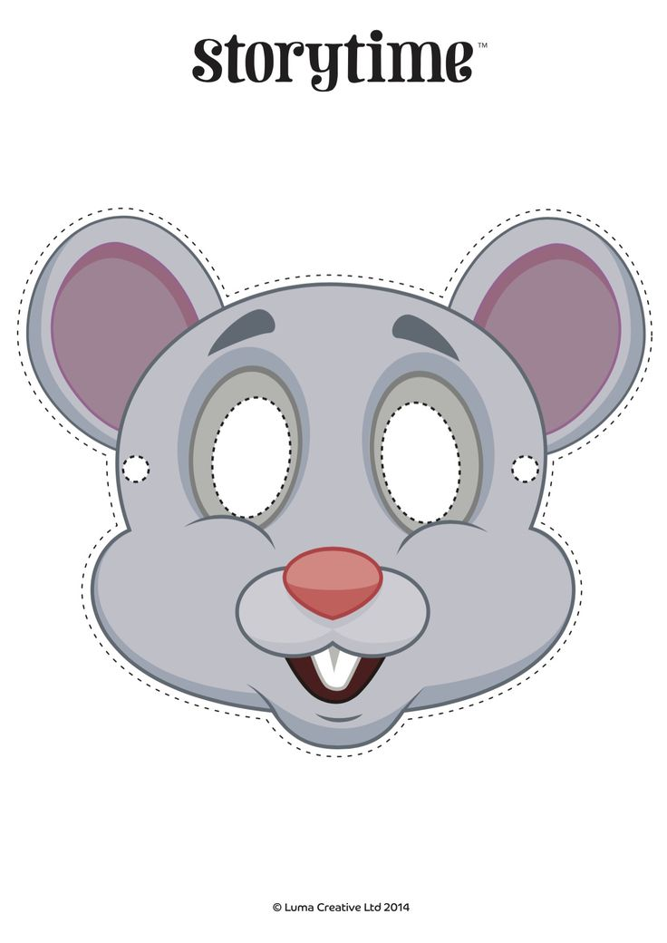 Mouse masks to print bing images for Printable mouse mask template