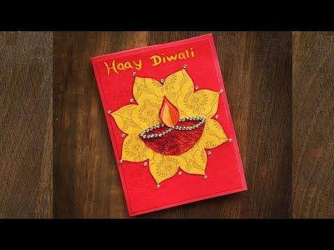 Diwali Greeting Cards Diwali Greeting Card Making Diwali