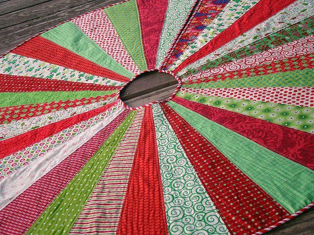 Tree skirt by Sew Crafty Jess