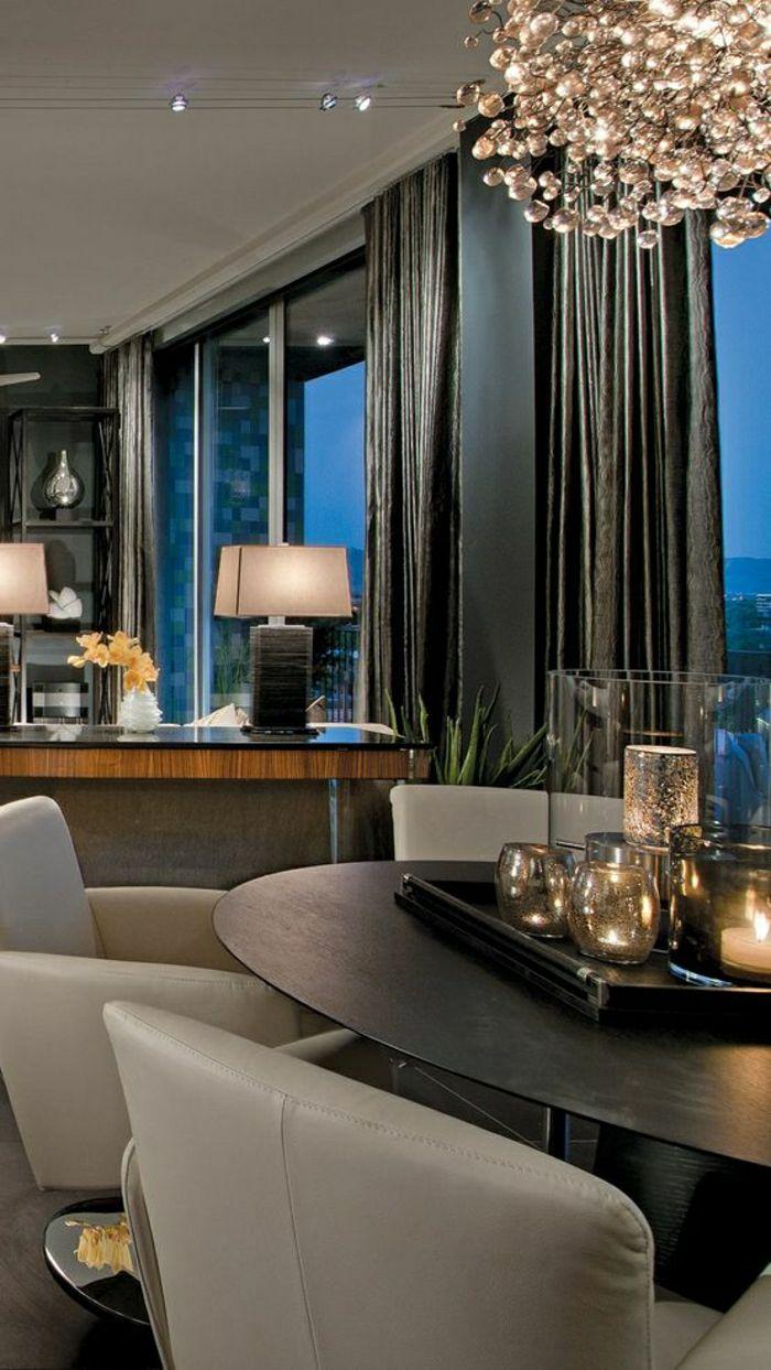 elegante gardinen für wohnzimmer  Home, Interior, Condo living