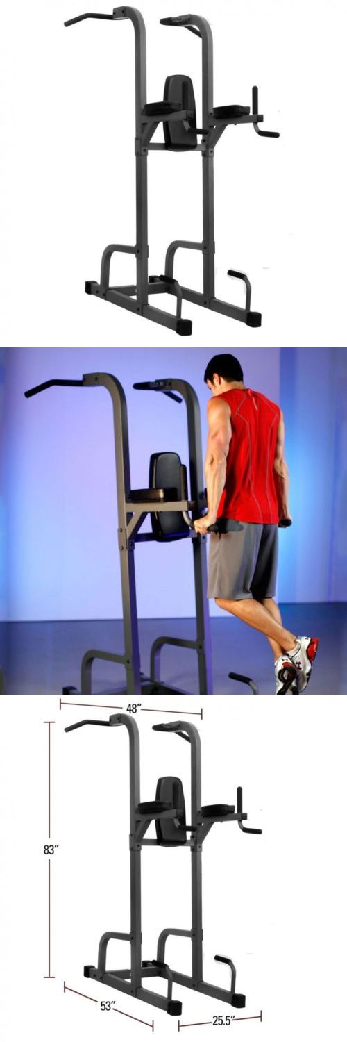 Push Up Stands 158925: Xmark Xm-7617 Vkr Power Tower With Dip And Pull Up Station -> BUY IT NOW ONLY: $504 on eBay!