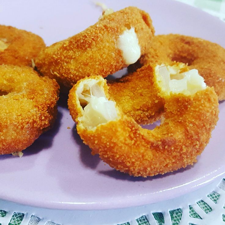 Anelli di Cipolla e formaggio