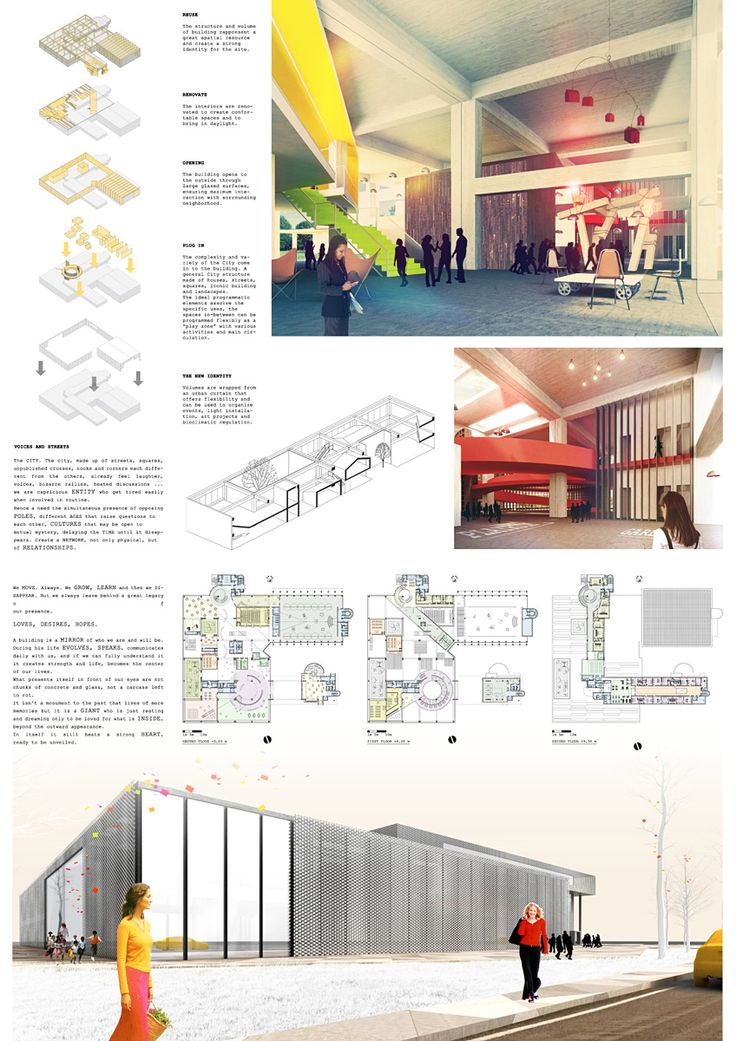 YAC's Space to Culture winners propose ideas for a new cultural community hub in Bologna, Italy // Honorable Mention team: RIZOMA (Giuliano Primi, Elena Pellegrini)