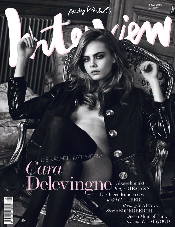 Cara Delevingne- Interview magazine cover [Germany] (May 2013)