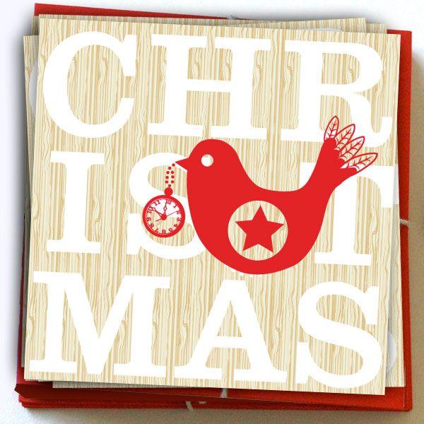 The clocks ticking down to Christmas... cards by KatyJane