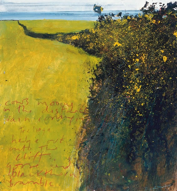 """Cornish Hedge"" by Kurt Jackson"