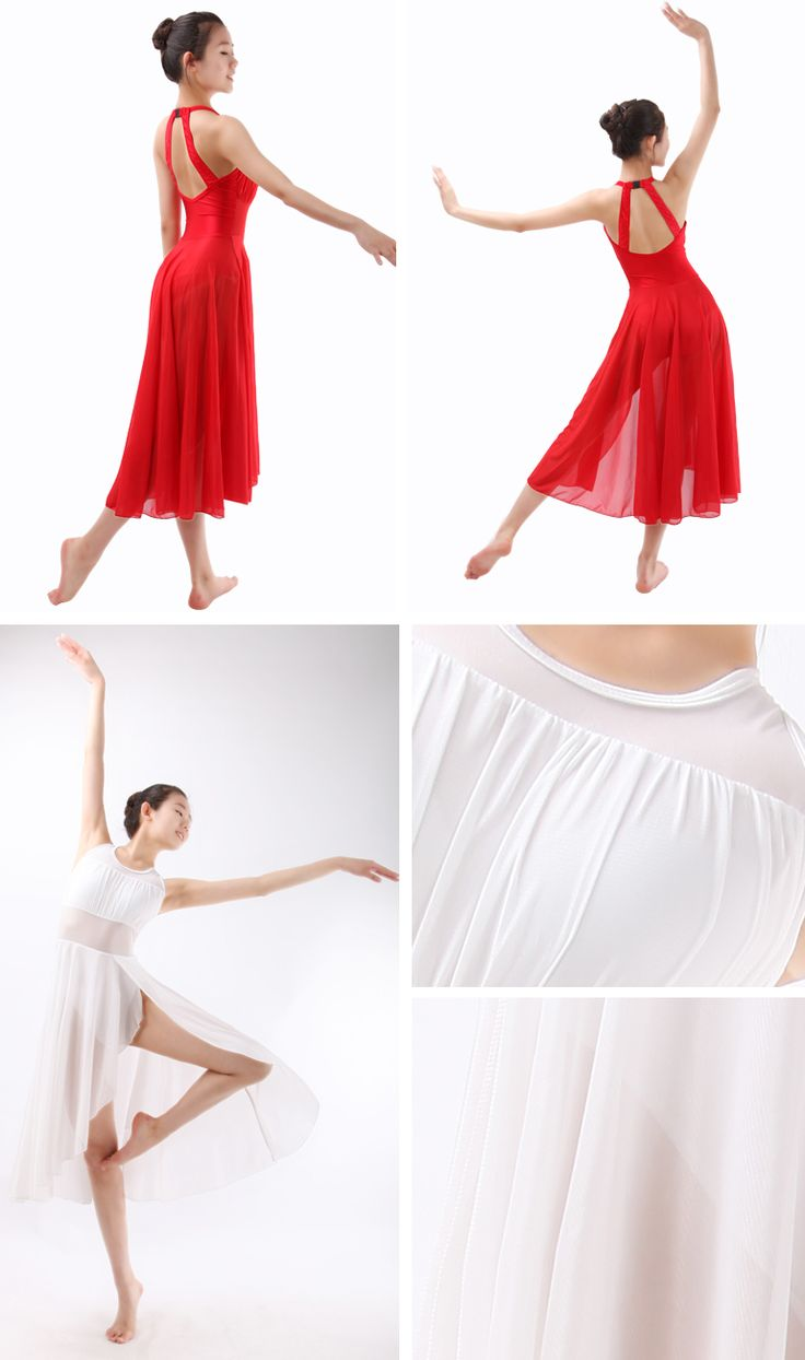 Lyrical Dance Costume Dress, Ballet Dresses for Adults