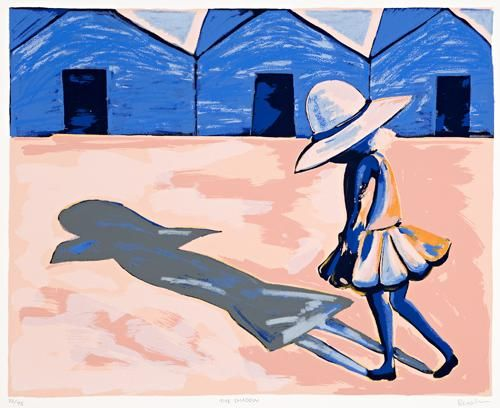 Charles Blackman, The Shadow (from the Schoolgirls Suite)