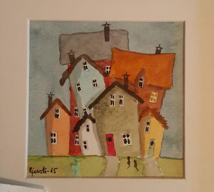 Engstelige hus Kjerstidig