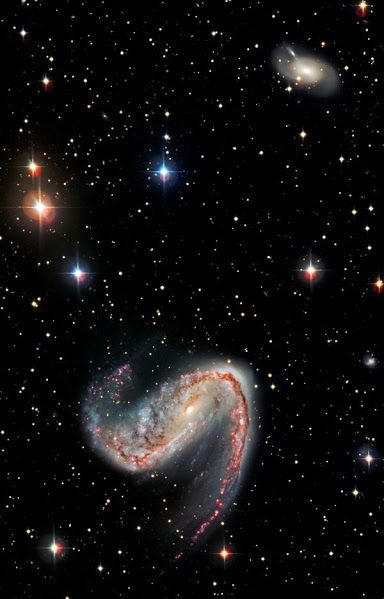 #NGC2442, the #MeathookGalaxy is 50 million light years in the #VolansConstellation.