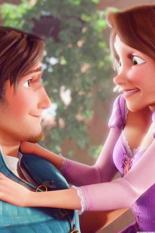 The way he looks at her is undeniable proof that their the best disney couple!