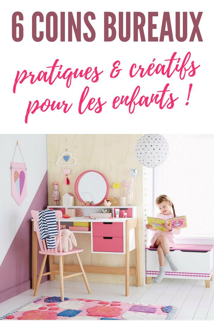 6 exemples de coin bureau enfant pratique d co cr atif sp cial primaire chambre enfants. Black Bedroom Furniture Sets. Home Design Ideas
