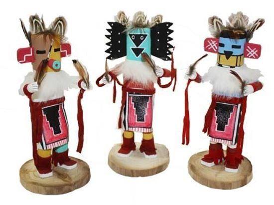 "Navajo Kachina Doll; 6""- Native American Indian Dolls For Sale $27.50 @ Foutztrade.com #NativeAmericanArts  Authentic Native american Design Doll  #NavajoCulture #NativeAmerican #KachinaDolls #Handmade #IndianArts #VintageArts #Authentic #NativeAmericanDesign #SouthwesternArts #Navajomade #Arts #Crafts"