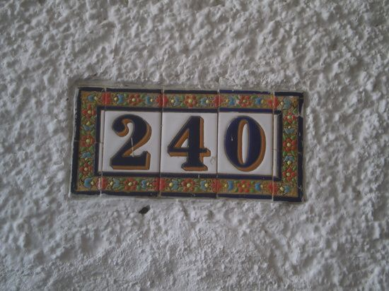 HOUSE NUMBERS by catherinea