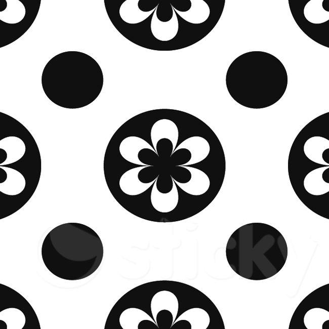 Tile Sticker BW 74 by Sticky!!!