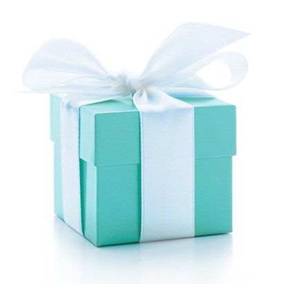 Tiffany and Co. - best blue of all!