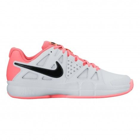 #Nike Air Vapor Advantage Clai 819661 #tennisschoenen dames white lava glow