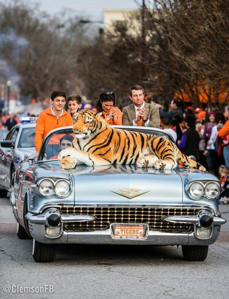 The Swinney Family at the National Championship Parade