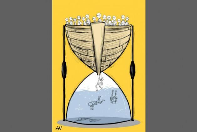 No one puts their children in a boat unless... [Του Γιώργου Μανετάκη - @manetackis ] http://www.efsyn.gr/arthro/no-one-puts-their-children-boat-unless…