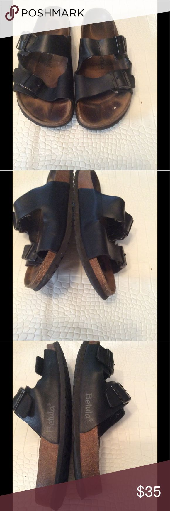 Betula sandals Preloved men betula sandals can use a cleaning otherwise good condition Birkenstock Shoes Sandals & Flip-Flops