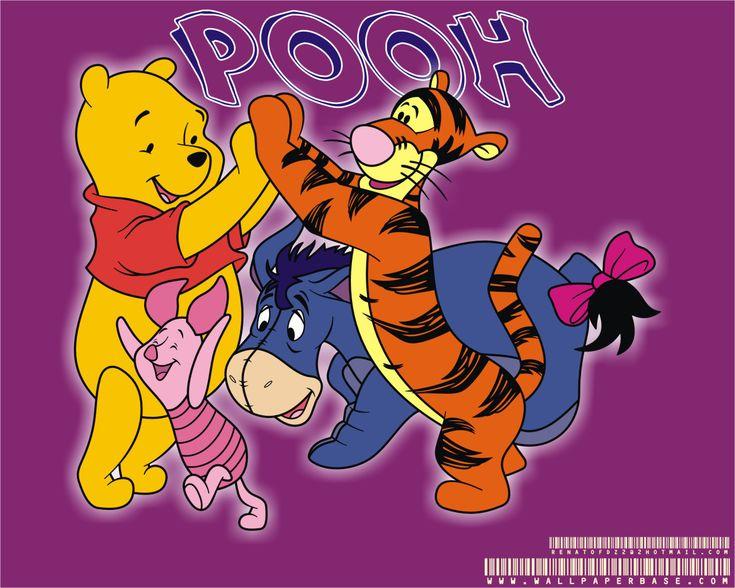 Winnie the Pooh Disney HD Wallpaper for iPad Air 2 - Cartoons