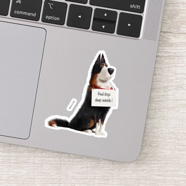 Rooster Real Dogs Sleep Outside Sticker Zazzle Com Sleeping Dogs Real Dog Secret Life Of Pets