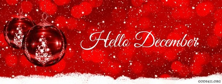 Hello December | Christian Facebook Cover