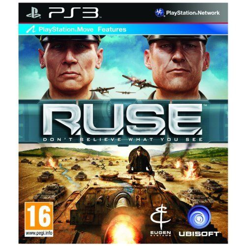 RUSE  Move Compatible PS3 UK IMPORT by Ubisoft ** Click on the image for additional details. Note:It is Affiliate Link to Amazon.